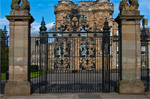 The Gates toThe Palace of Holyroodhouse, Edinburgh